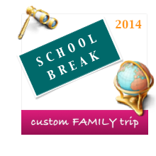 Private tour during school holidays