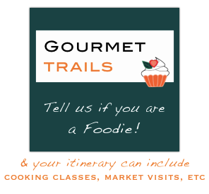 Gourmet Trails for foodie travellers